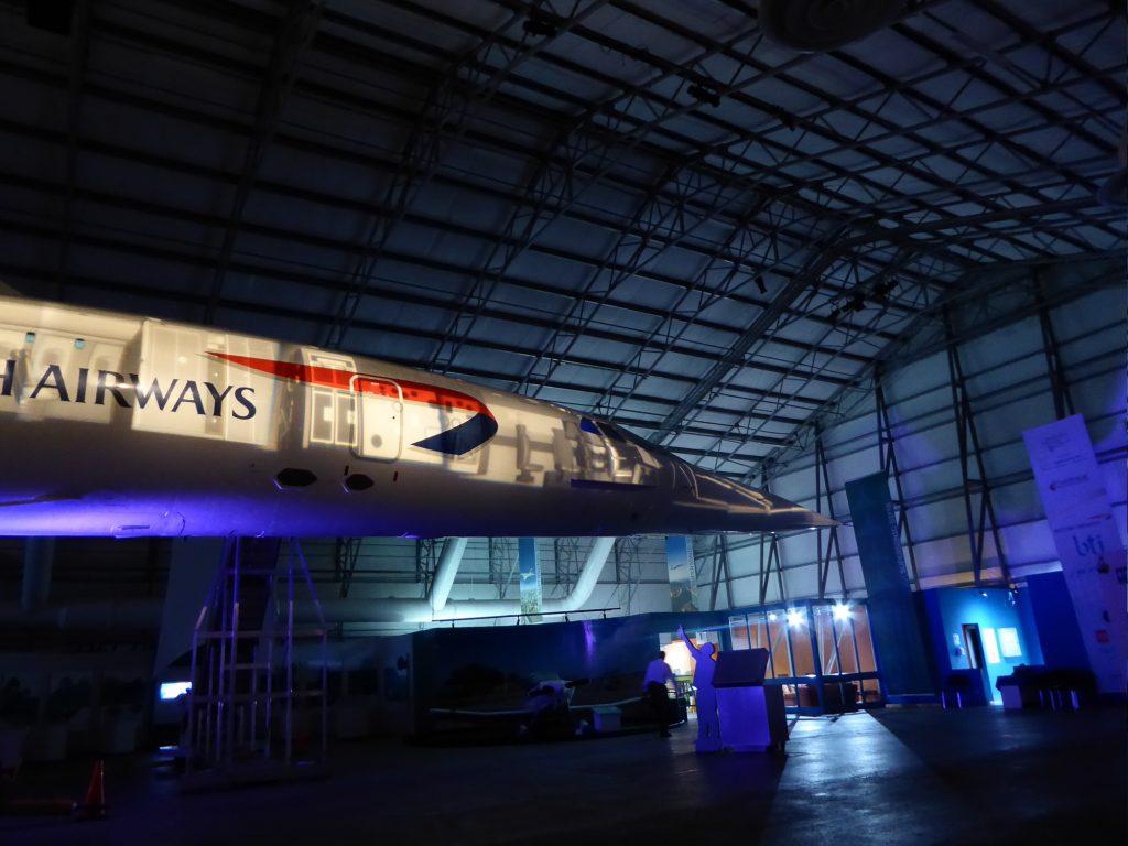 Concorde in Barbados