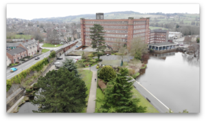 Belper Derbyshire Aerial Footage 5