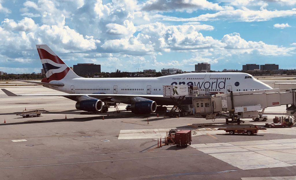 British Airways Plane Storage